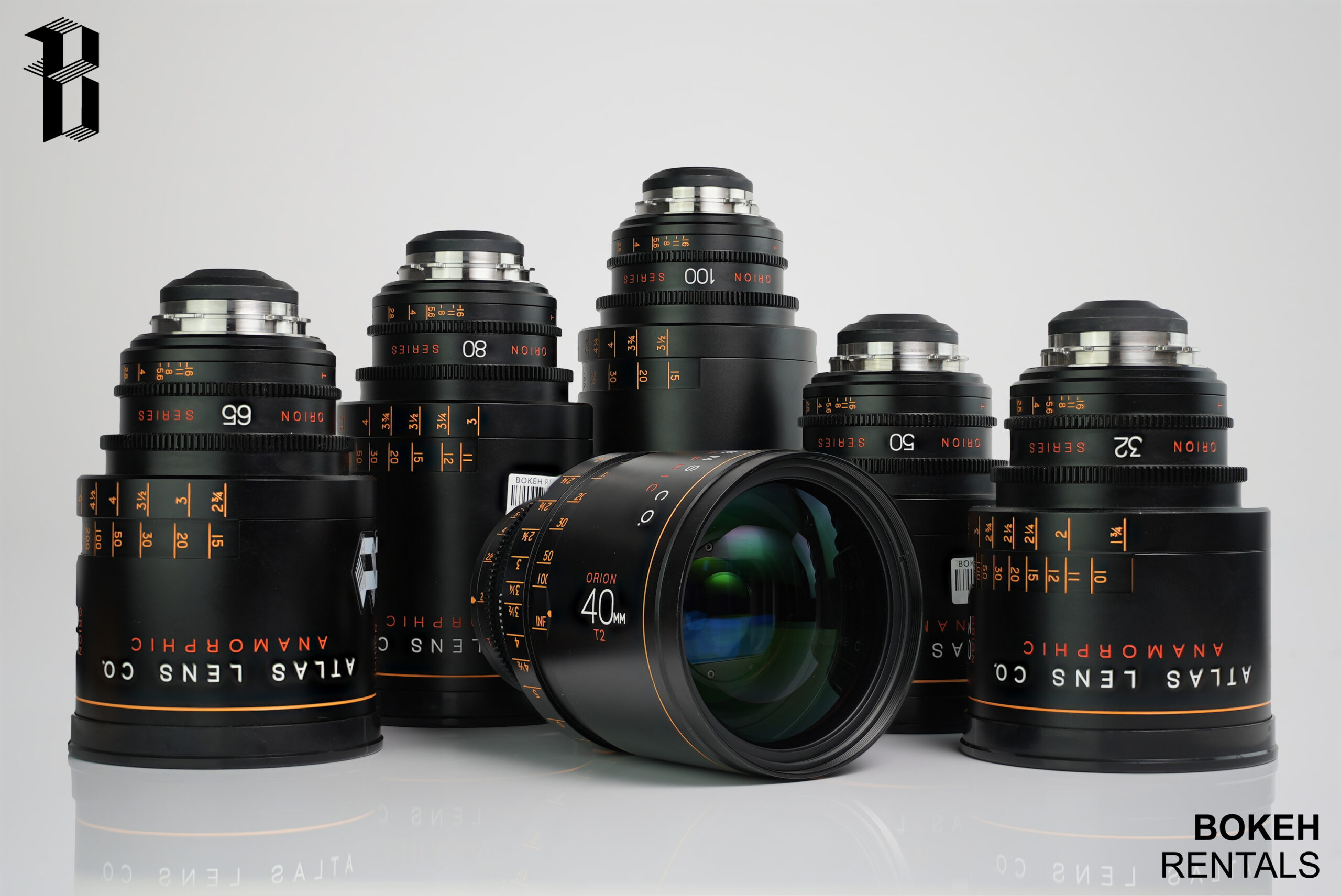 Atlas Lens Co. T2 Orion Series 6 Lens Set