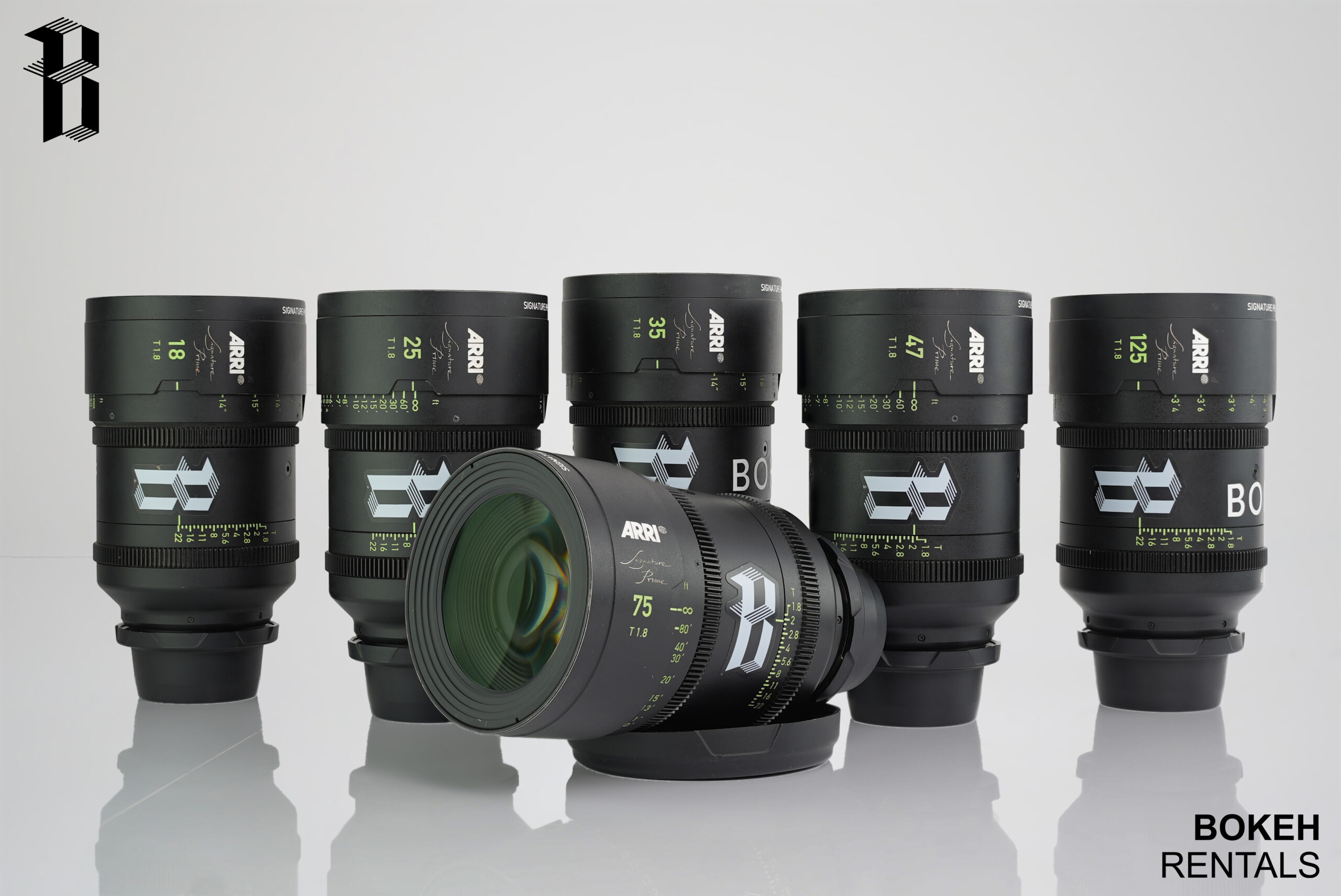 Arri Signature Primes 6 Lens Set T1.8