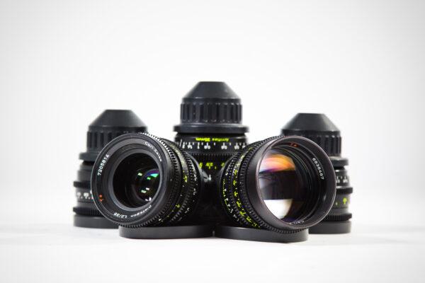 Zeiss Super Speed Mark II 5 Lens Set
