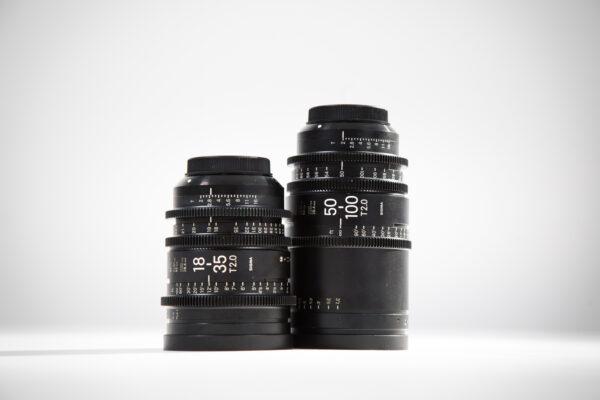 Sigma Cinema Zoom 2 Lens Set
