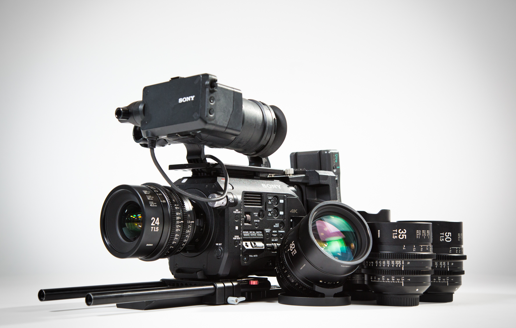 Sony Fs7 - Sigma Cine Prime Package