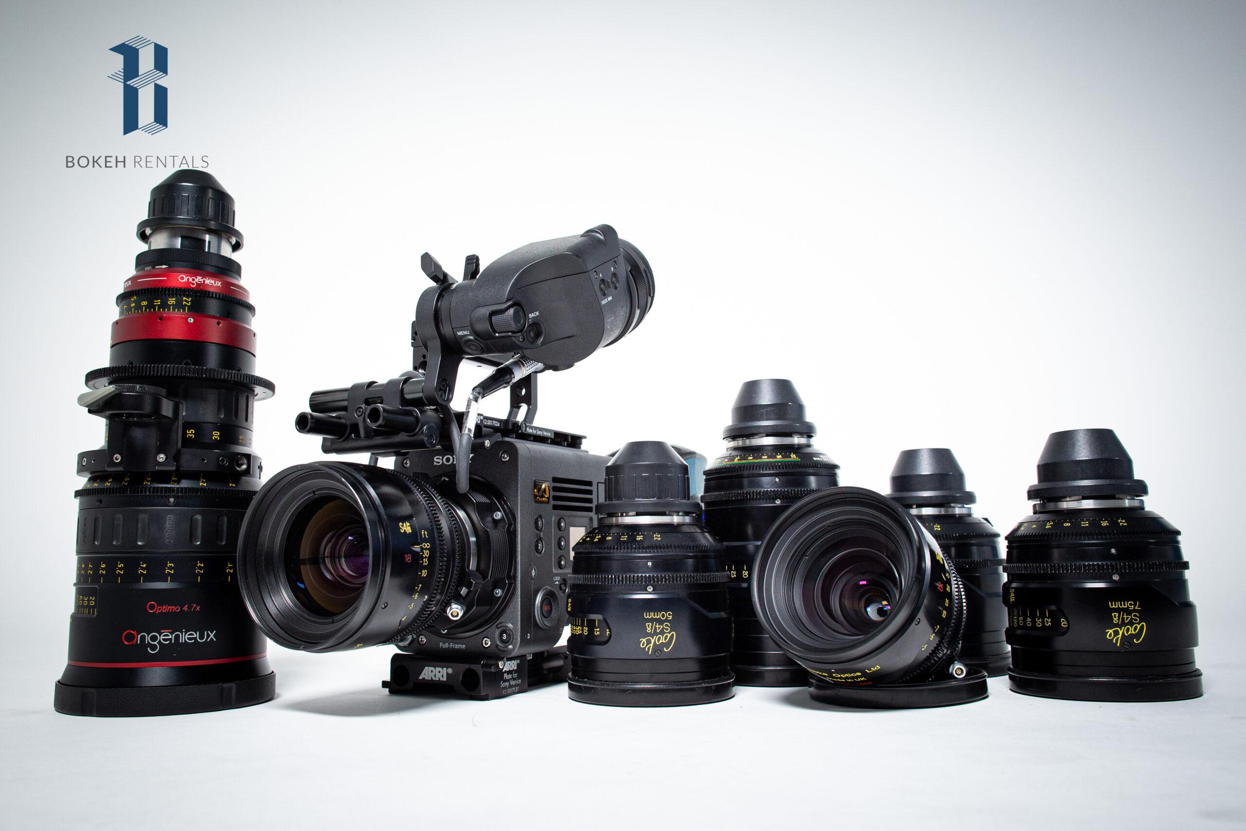 Sony Venice - Cooke S4/i & Angenieux 19.5-94mm Set