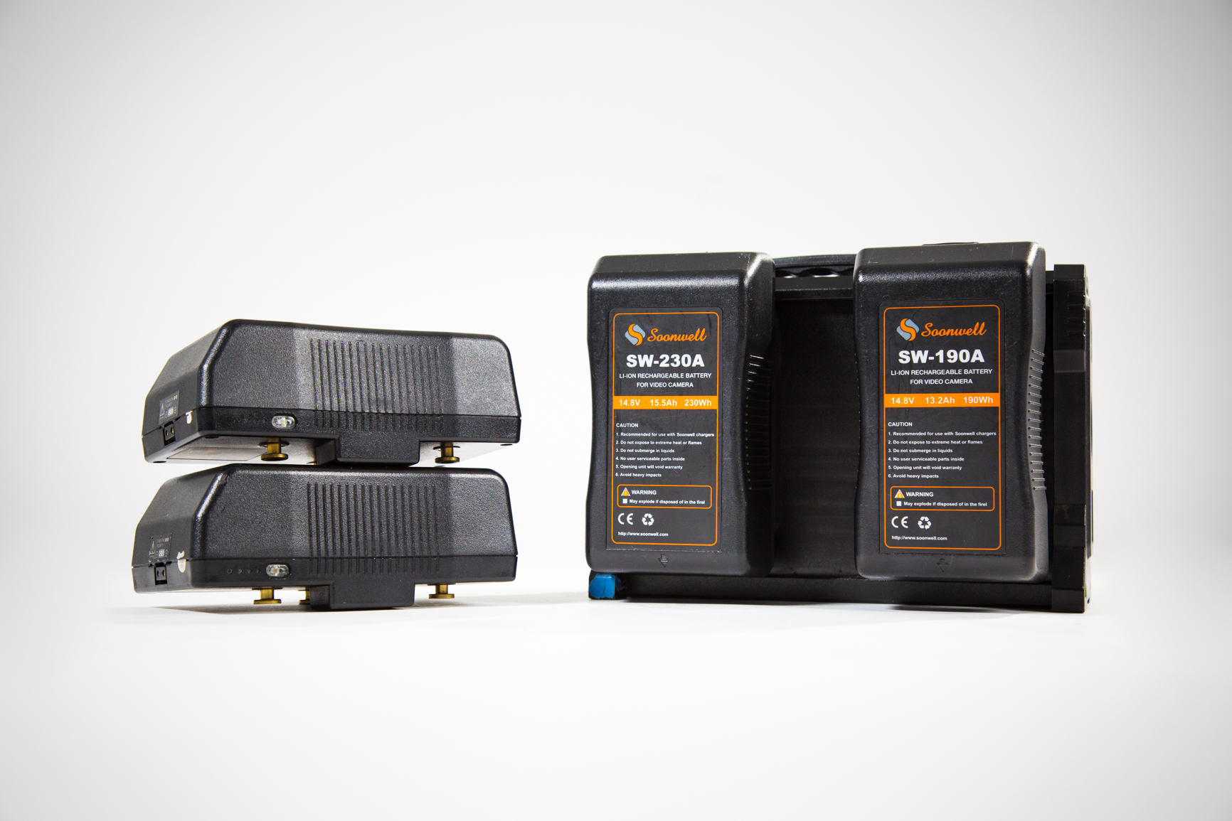 Soonwell 230Wh Gold Mount Batteries