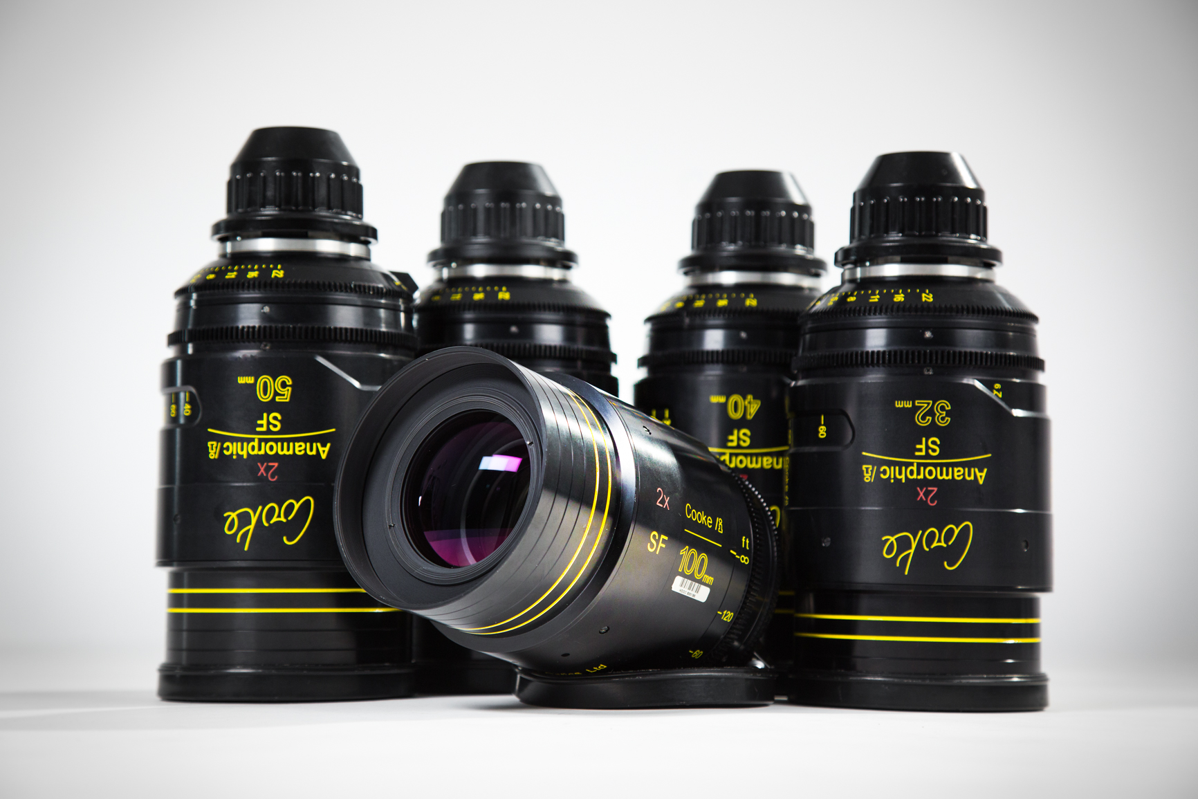 Cooke 2x Anamorphic 5 Lens Set