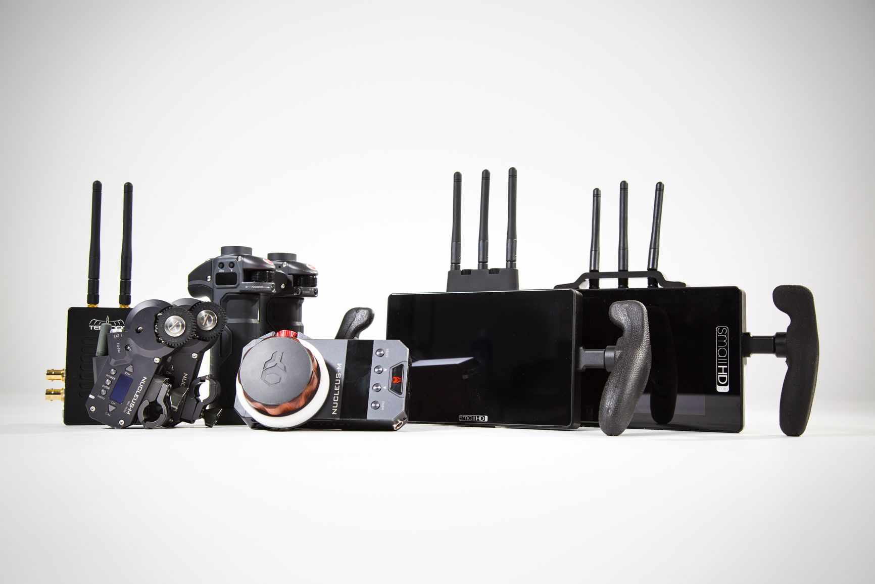 Tilta Nucleus M, SmallHD Cine 7, SmallHD 703 & Teradek 500 Transmitter Kit