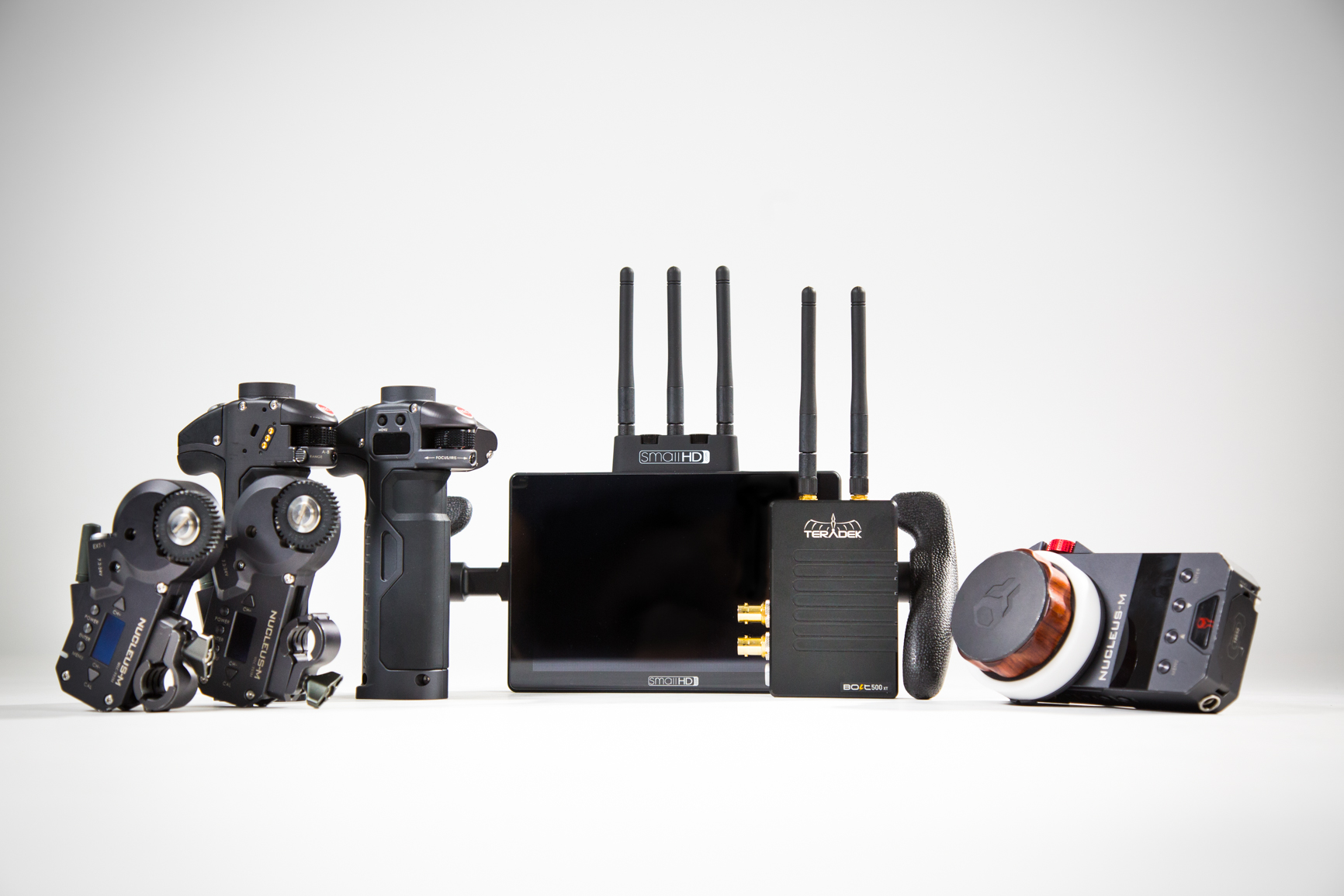 Tilta Nucleus M, SmallHD Cine 7 & Teradek 500 Transmitter Kit