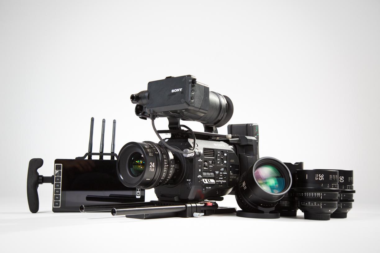 Sony Fs7, Sigma Cine Primes, SmallHD 703 Bolt