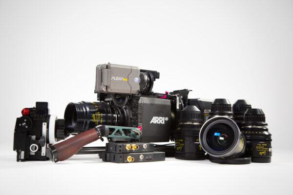 Arri Alexa Mini, Cooke Mini S4/i set, RT Motion, Teradek 500 Kit