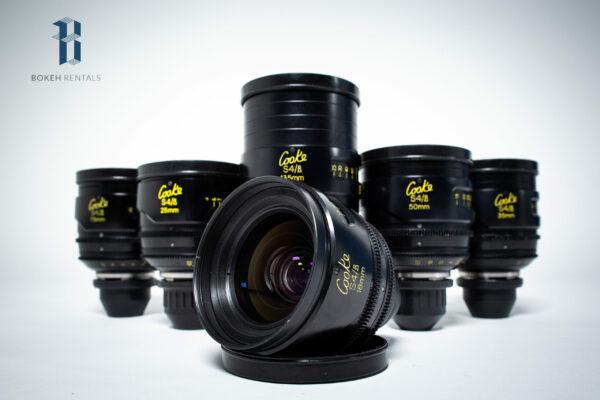 Cooke S4/i 6 Lens Set