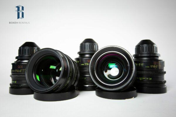 Lomo Illumina MK II Lens Set