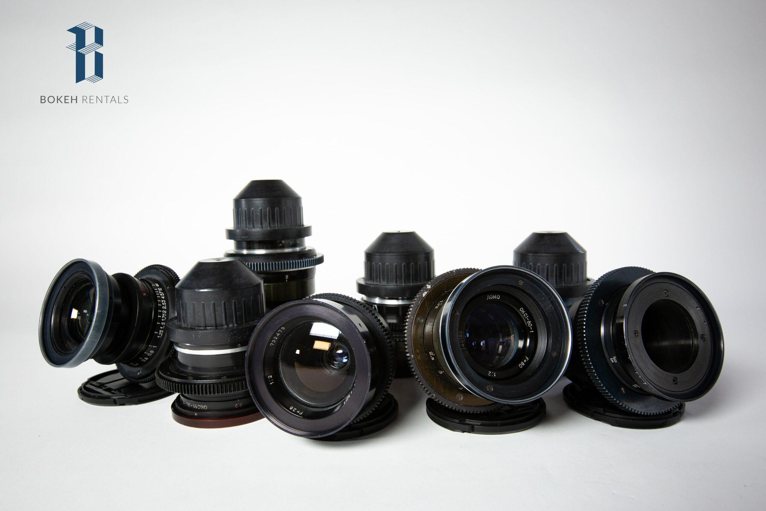 Lomo Kinor Lens Set