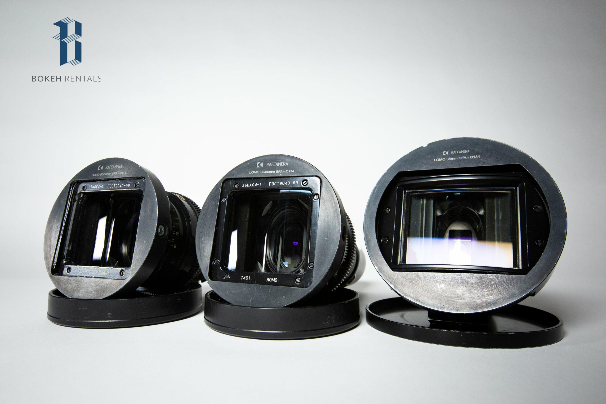 Lomo Square Front Anamorphic Lenses
