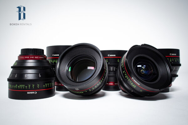 Canon CNE Prime 6 Lenses
