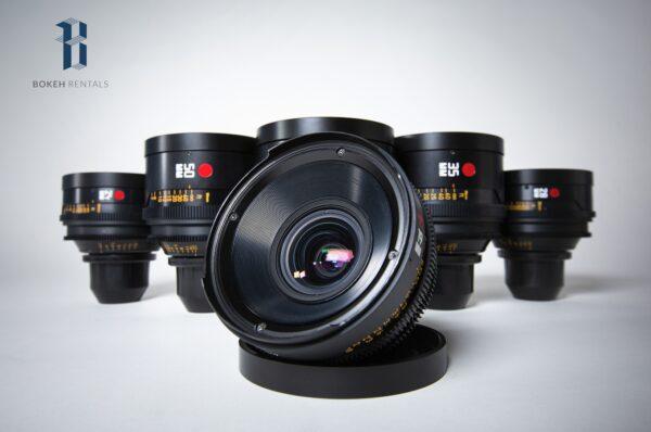 Leica R Summilux Primes 6 Lens Set