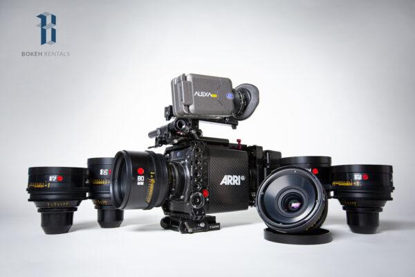 Alexa Mini w/ Leica R Summilux Primes 6 Lens Set