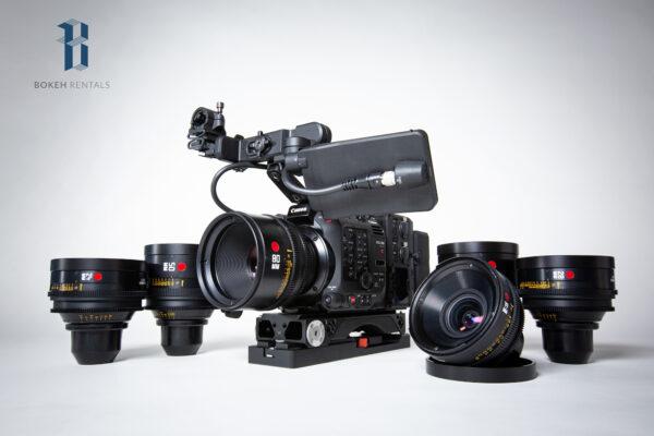 Canon C500 w/ Leica R Summilux Primes 6 Lens Set