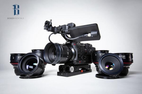 Canon C500 w/ Canon K35 Vintage TLS Prime Bundle