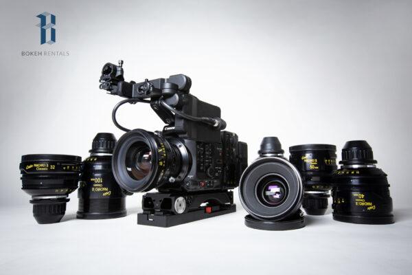 Canon C500 II w/ Cooke Panchro/i Classic 7-Lens Set