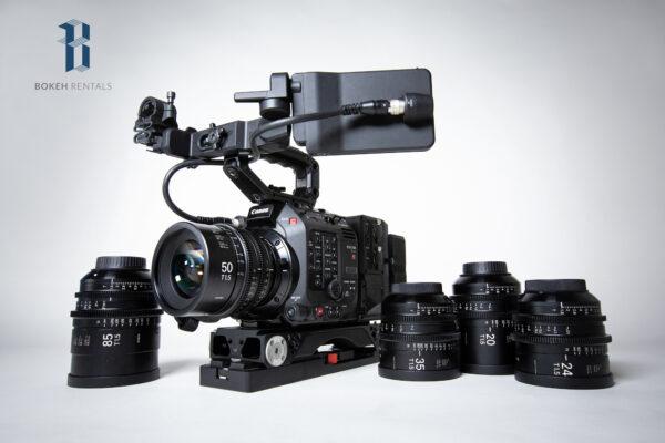 Canon C500 II w/ Sigma Cine FF High Speed Primes 5 Lens