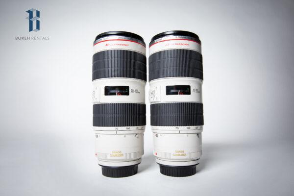 X2 Canon L Series 70-200mm Lenses