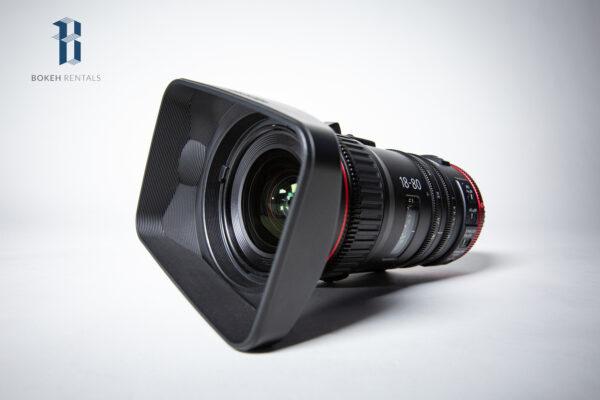 Canon 18-80mm T4.4 Cinema Zoom Lens