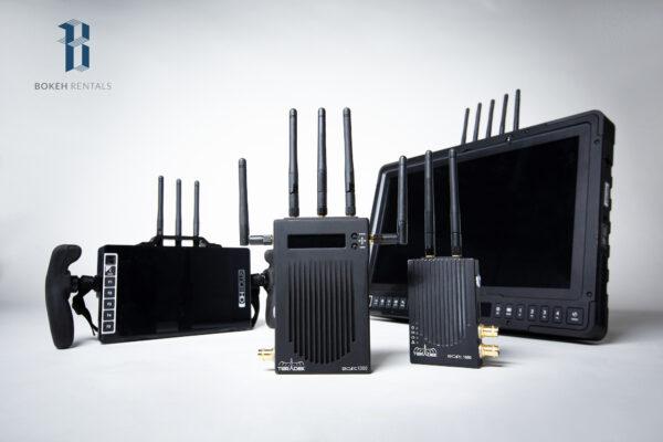 Small HD 1703 Monitor w/ SmallHD 703 Bolt Wireless Handheld and Teradek 1000