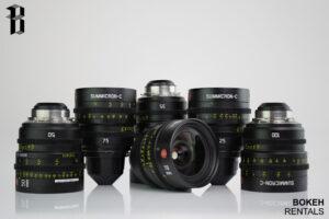 Leica Summicron-C T2.0 Lens Set