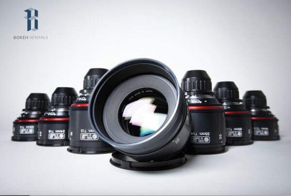 Canon K35 Vintage TLS Primes 7 Lens Set