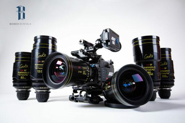 Alexa Mini LF w/ Cooke Anamorphic SF Full Frame+ 6 Lens Set