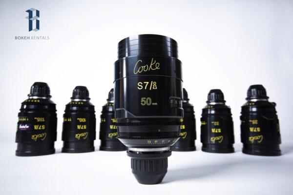 Cooke S7/I Full Frame 7 Lens Set