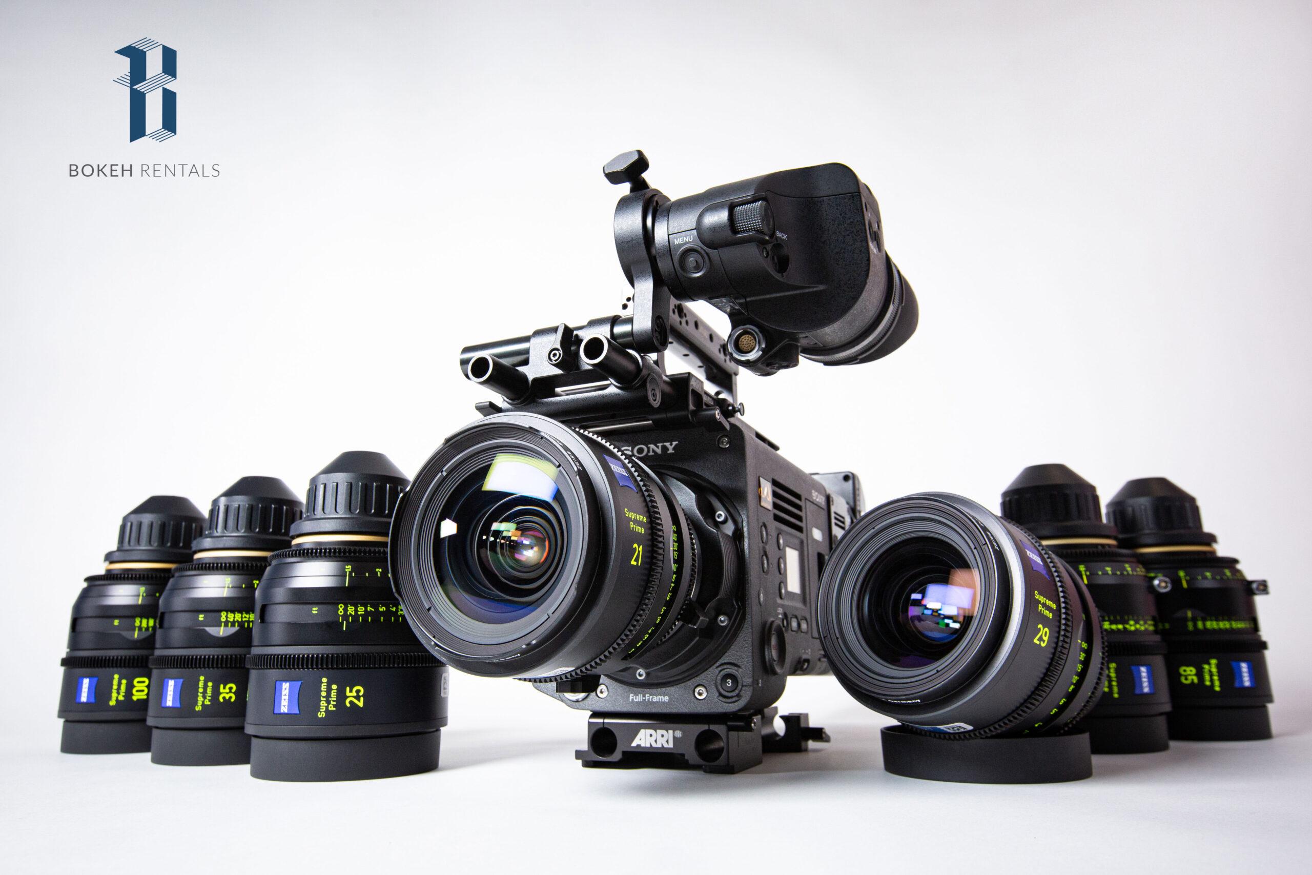 Sony VENICE Full Frame 6K CineAlta Camera w/ ZEISS Supreme Radiance Set
