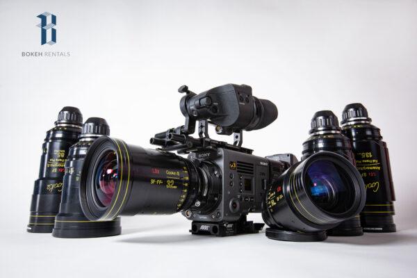 Sony VENICE Full Frame 6K CineAlta Camera w/ Cooke FF Special Flare Set
