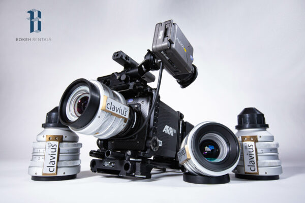 ARRI Alexa Mini w/ Richard Gale Optics Clavius Primes