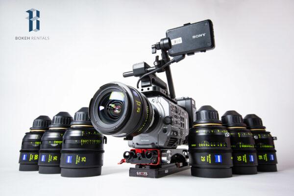 Sony PXW-FX9 Full Frame Camera w/ ZEISS Supreme Prime Radiance Set