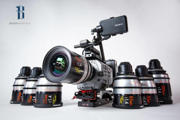 Sony PXW-FX9 Full Frame Camera w/ Masterbuilt Soft Flare Primes 7 Lens Set